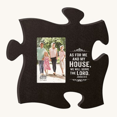 As For Me and My House, Puzzle Photo Frame  -