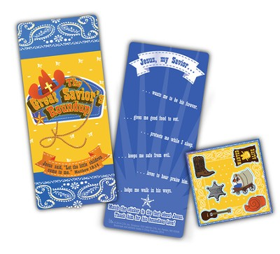 The Great Savior Roundup, Activity Bookmark with Stickers  -