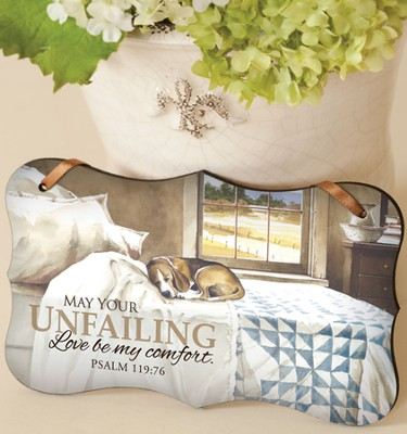 Unfailing Love Mounted Print Plaque  -     By: John Rossini