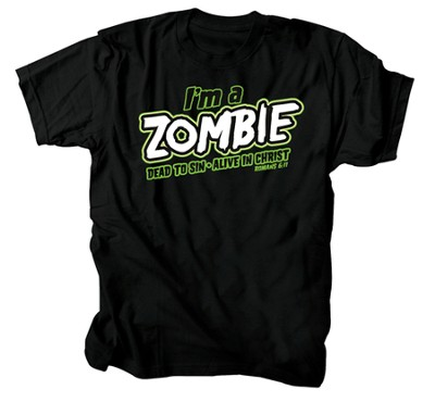 I'm A Zombie Shirt, Black, 3X Large  -