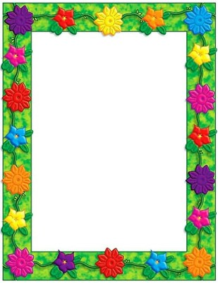 Jungle Flowers Printer Paper  -