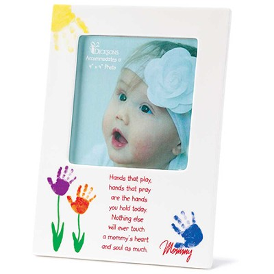Mommy, Hands That Play Photo Frame  -
