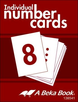 K4 Individual Number Cards (100 cards; 10 Student Sets)   -
