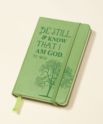 Be Still and Know Notepad, Green  -