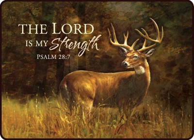 The Lord Is My Strength Magnet  -