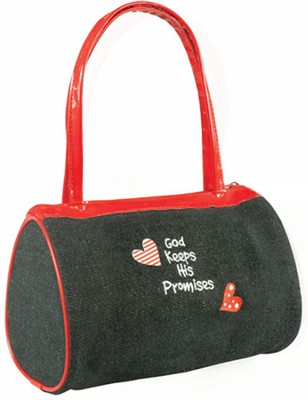 God Keeps His Promises Laedee Bugg Totebag  -