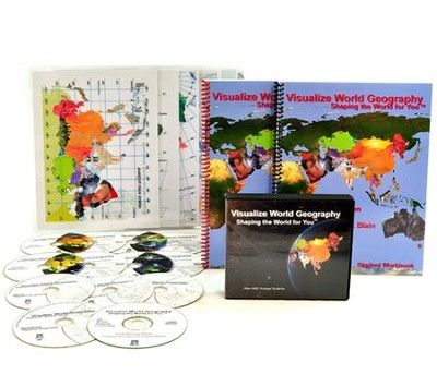 Visualize World Geography, Combination Kit Kindergarten to Twelfth Grades  -     By: Theresa Blain