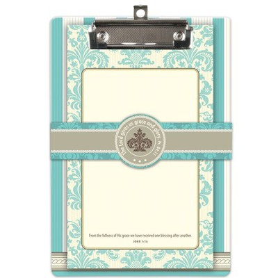 The Lord Gives Us Grace Clipboard and Notepad Set  -