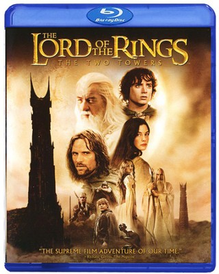 Lord of the Rings: The Two Towers, Blu-ray    -