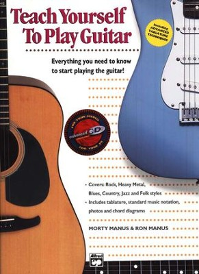Teach Yourself to Play Guitar, Book & Compact Disc   -     By: Morty Manus, Ron Manus