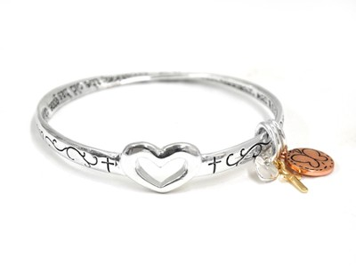 Therefore, If Anyone Is in Christ Mobius Bracelet  -