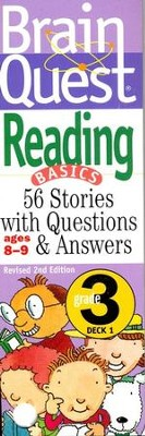Brain Quest Grade 3 Reading, Revised 2nd Edition  -