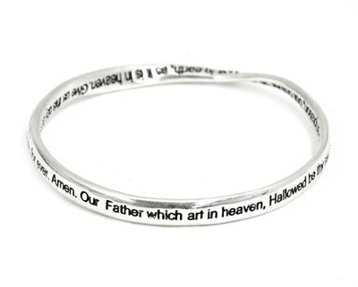 The Lord's Prayer Mobius Bracelet   -