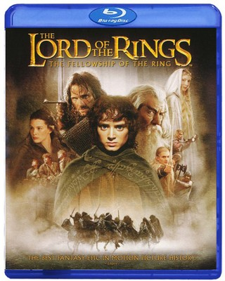 Lord of the Rings: The Fellowship of the Ring, Blu-ray    -