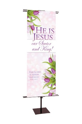 He is Jesus - Easter Banner   -