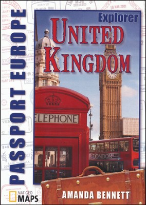 Passport Geography: United Kingdom, Explorer Level   CD-ROM  -     By: Amanda Bennett