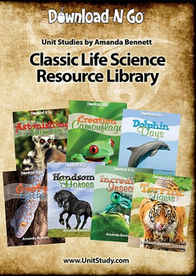 Classic Life Science Resource Library CD  -     By: Amanda Bennett