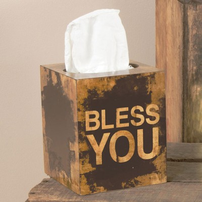 Bless You Tissue Box  -