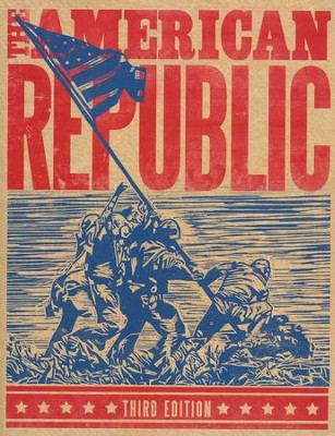 BJU The American Republic Grade 8 Student Text, Third Edition    -