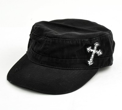 Zebra Cross Cap  -