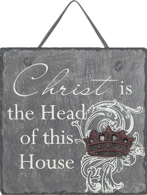 Christ Is the Head Plaque  -