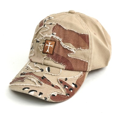 Camo Cap with Cross  -