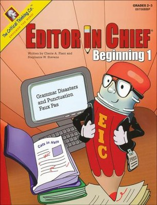 Editor in Chief Beginning 1   -