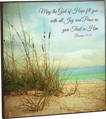 May the God Of Hope Fill You, Artwork  -