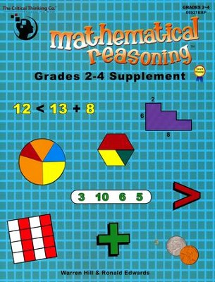 Mathematical Reasoning Grades 2-4 Supplement   -