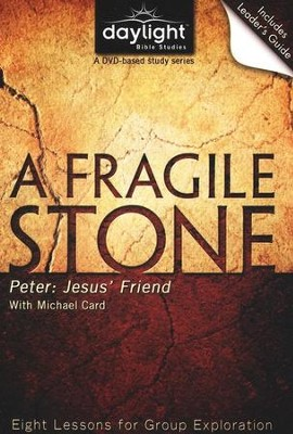 A Fragile Stone: Peter: Jesus' Friend, DVD with Leader's Guide   -