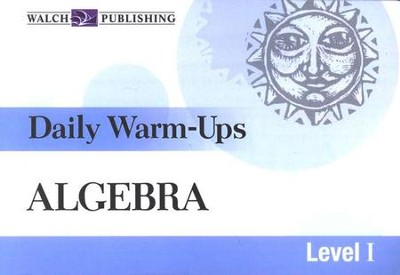 Algebra, Level 1: Daily Warm-Ups   -     By: Hope Martin