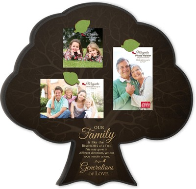 Family Tree, Magnetic Photo Frame  -