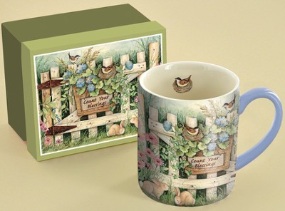 Count Your Blessings, Garden Gate Mug  -     By: Susan Winget