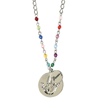 Mommy, Hands That Play Necklace  -