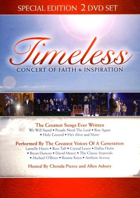 Timeless: The Concert of Faith and Inspiration, DVD   -