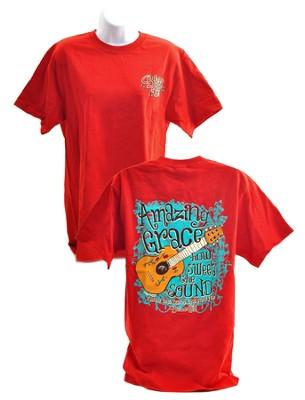 Amazing Grace 2, Blessed Girl Tee Shirt, Large