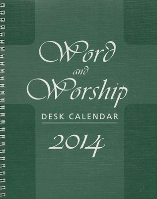 Word and Worship Desk Calendar 2014  -     By: Don Brophy
