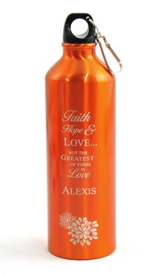 Personalized, Love Water Bottle   -