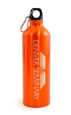 Denver Seminary Water Bottle, Orange   -