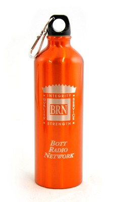 Bott Network Metal Water Bottle, Orange   -