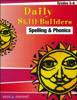 Daily Skill-Builders: Spelling & Phonics, Grades 5-6   -