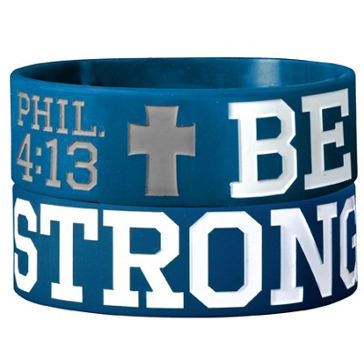 Be Strong Silicone Bracelet  -