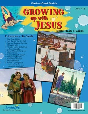 Growing Up with Jesus Beginner (ages 4 & 5) Bible  Stories  -