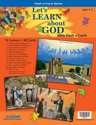 Let's Learn About God Beginner (ages 4 & 5) Bible Stories, Revised Edition  -