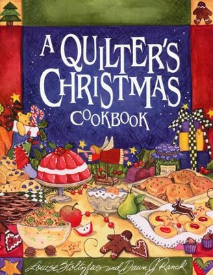 A Quilter's Christmas Cookbook  - Slightly Imperfect  -