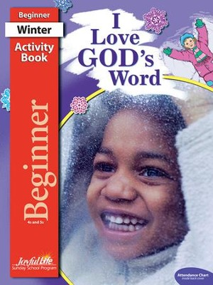 I Love God's Word Beginner (ages 4 & 5) Activity Book, Revised Edition  -