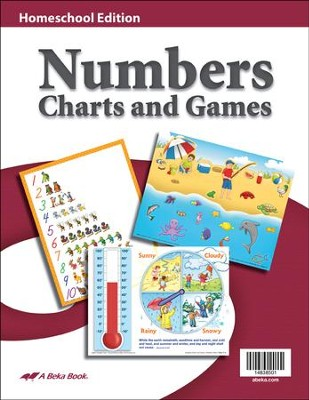 K4-K5 Homeschool Numbers Charts and Games    -