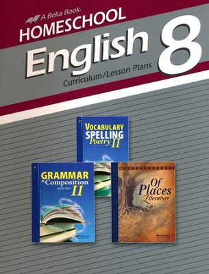 Homeschool English 8 Curriculum/Lesson Plans   -