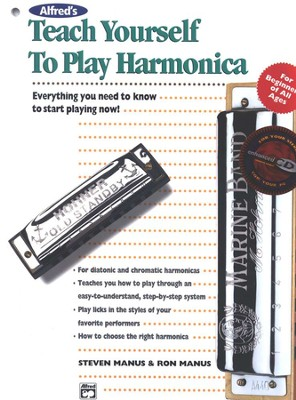 Teach Yourself to Play Harmonica Kit (Book, Harmonica & Enhanced CD)  -     By: Steve Manus, Ron Manus