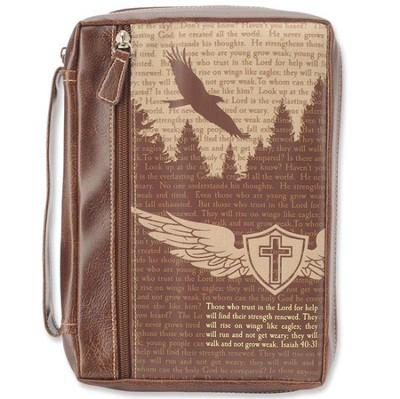 Eagle's Flight Bible Cover, Extra Large   -